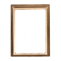 Smooth Rectangular wall photo frame 9x12 cm