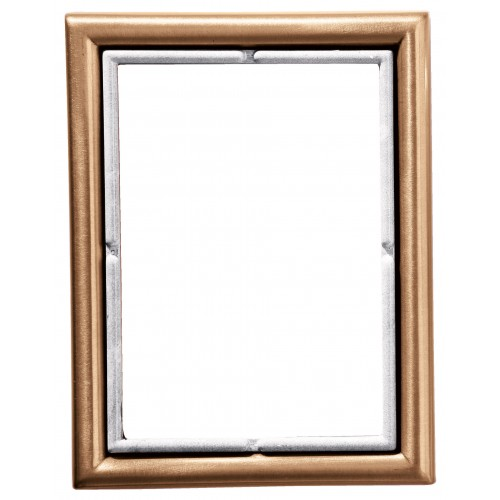 Rectangular Wall Photo Frame With Carrara Edge 11x15 Cm