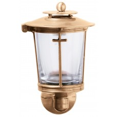 Electric wall light 16x10 cm with cross