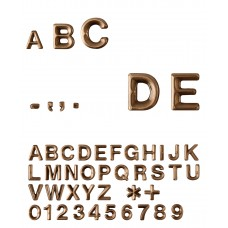 Letters and Numbers Avant