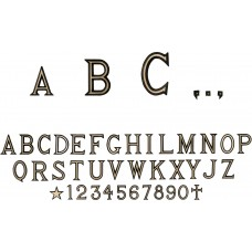 Letters and Numbers Berico