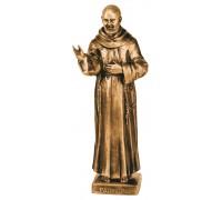 Saint Padre Pio's Statue 54x22 cm