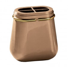Flowers wall pot 19x18 cm collection Filo oro