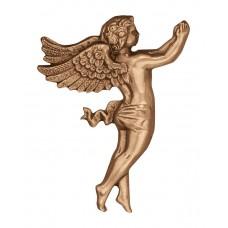 Wall angel plate 20x11 cm