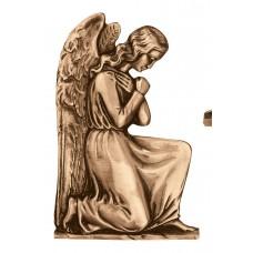 Wall angel plate 32x21 cm